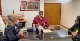"""El mandatario Nicolás Maduro manifestó: """"Es un día de victoria para todas y todos los venezolanos""""."""