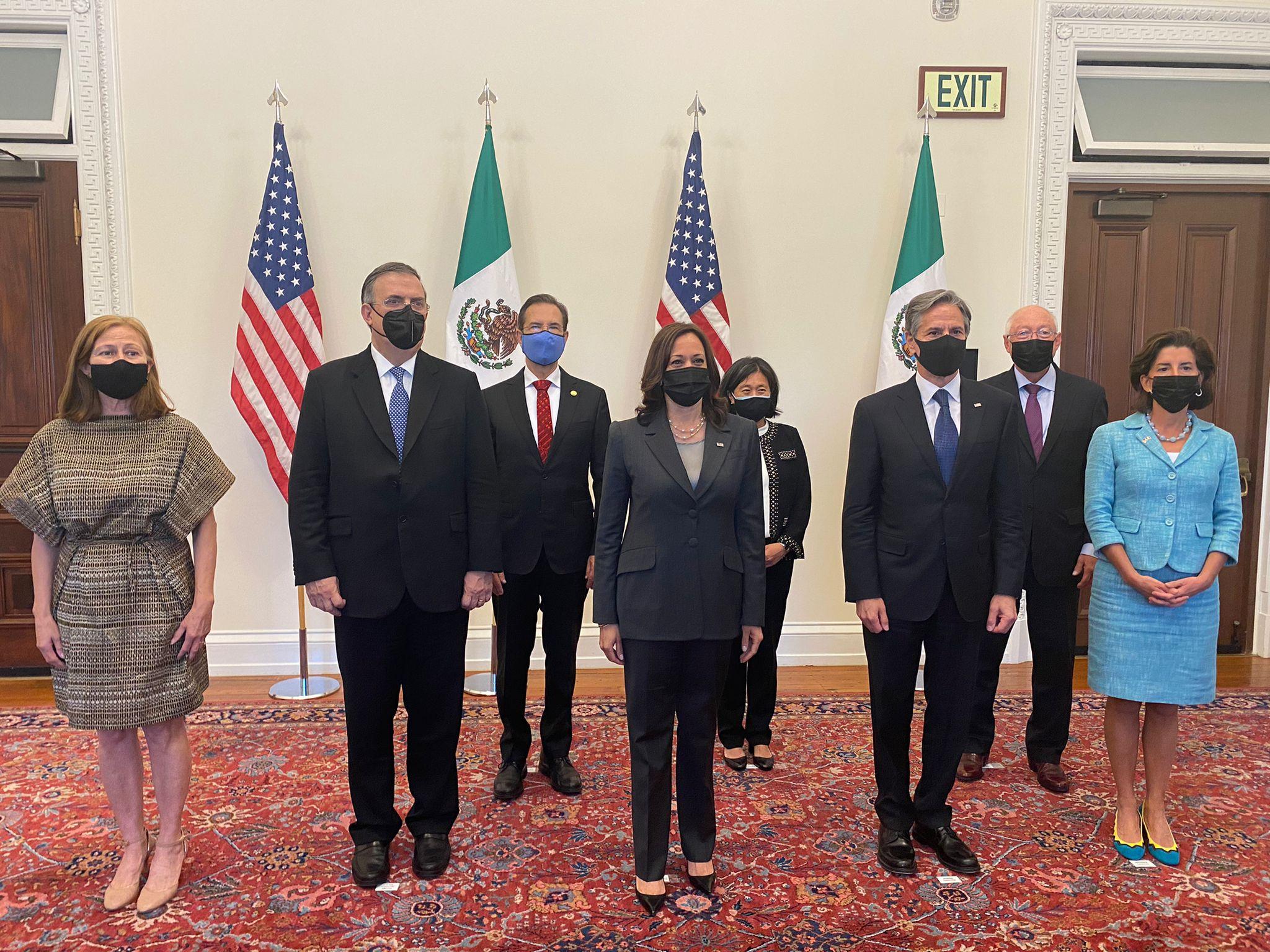 Desarrollan Diálogo Económico de Alto Nivel entre México y Estados Unidos