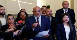 Jorge Rodríguez respondió las afirmaciones del funcionario estadounidense sobre nuevas sanciones contra Venezuela.