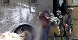 La fuerte represión israelí incluye detenciones arbitrarias y traslado de prisioneros a destinos desconocidos.