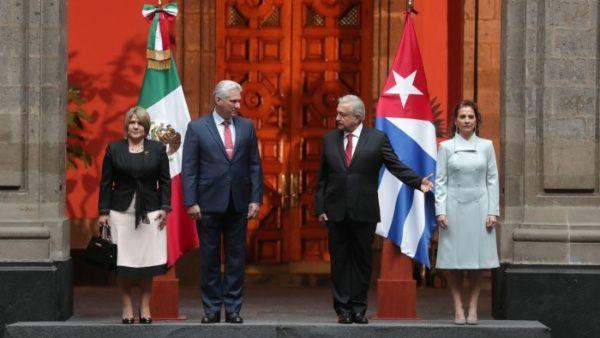 Esta será la tercera ocasión en que el presidente cubano Miguel Díaz-Canel visite México.