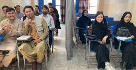 Desde la semana pasada, inició un nuevo ciclo escolar en las universidades afganas.