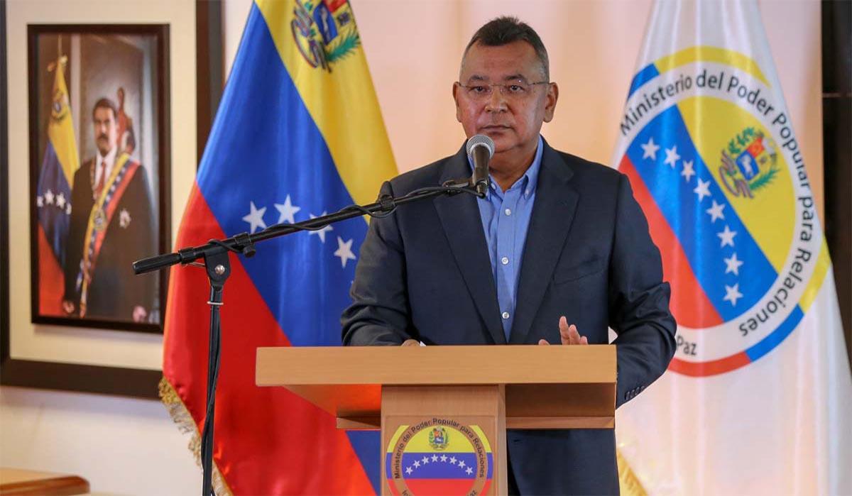 El vicepresidente sectorial de Obras Públicas y Servicios catalogó la acción como un ataque terrorista en el marco de la guerra multiforme que enfrenta el país.