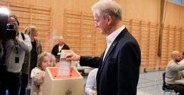 Store y su Partido Laborista consiguieron el 26.3 por ciento de los sufragios favorables.