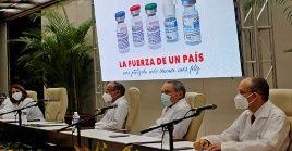 Las vacunas cubanas contra el coronavirus ya se utilizan en algunas naciones como parte de convenios bilaterales.
