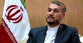 El canciller iraní aseguró que el Ministerio de Asuntos Exteriores actuará con determinación.