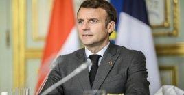 El mandatario francés, Emmanuel Macron, no ofreció detalles sobre el operativo militar que abatió a Adnan Abou Walid al-Sahrawi.
