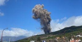 La Cumbre Vieja de La Palma es uno de los complejos volcánicos más activos de Canarias, en el sur de España.