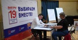 Los primeros colegios electorales en cerrar han sido los del extremo oriental del país, en ciudades como Jabarovsk.