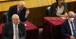Mikati (izquierda) centrará su gestión en intentar sacar a la nación de su peor crisis económicA y social de la historia.