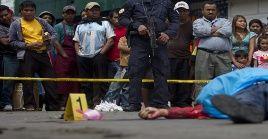 Guatemala es uno de los 15 países más violentos del mundo, según índices de organismos internacionales.