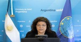 Vizzotti busca fortalecer el multilateralismo que involucre la colaboración entre los gobiernos.