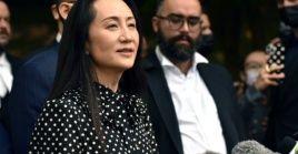 La directora financiera de Huawei abandonó Canadá y está a bordo de un avión con destino a China,