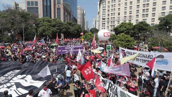 Convocan a movilización para exigir enjuiciamiento político de Jair Bolsonaro