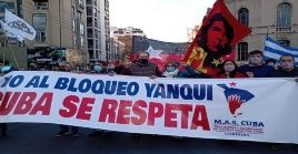 Amigos de Cuba en varios continentes exigieron a la Casa Blanca poner fin a su guerra económica contra la nación caribeña.