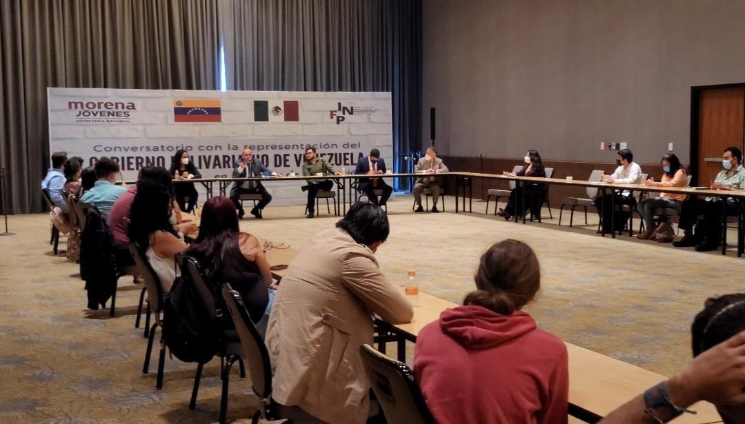 Delegaciones de diálogo de Venezuela cumplen agenda en México