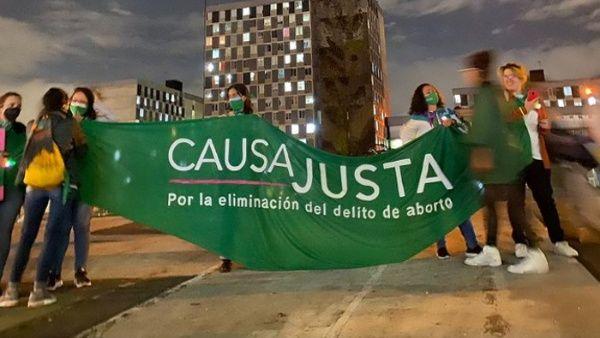 Durante la jornada del Paro Nacional hubo reclamaciones específicas en relación con demandas particulares como las del derecho al aborto.