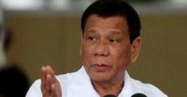 """""""Hoy anuncio mi retirada de la vida política"""", concluyó Duterte, lo que allana el camino para que su hija sea candidata a dirigir el país."""