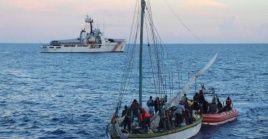 Según la Guardia Costera, 1.527 migrantes haitianos han sido rescatados desde el 1 de octubre de 2020.