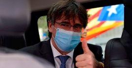 Puigdemont exigió a la Justicia española que cese sus intentos de extraditarlo después de cuatro años porque esto dificulta que se resuelva el conflicto político en Cataluña.