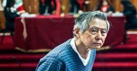 """""""Ya se venía con una predeterminación de evaluar su corazón y va a ser intervenido, se le va a colocar dos stent en las coronarias, por el momento, él (Fujimori) está consciente"""", detalló Aguinaga."""
