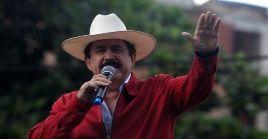 El 29 de junio de 2009 fue derrocado del cargo de presidente, Manuel Zelaya.