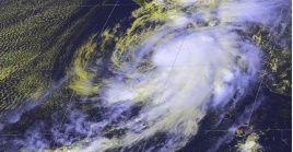 Pamela se identificó con rachas sostenidas de 130 km/h y con un desplazamiento hacia el noroeste a 15 km/h.