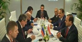 La reunión realizada entre representantes de ambos países se efectuóen el marco del Foro Internacional de la Semana de la Energía de Rusia.