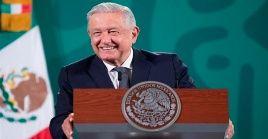 López Obrador también precisó que el país autorizó 180 millones de pesos mexicanos para desarrollar la vacuna Patria contra la Covid-19.