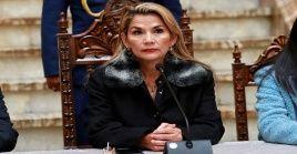 Jeanine Áñez se declaró presidenta de la Cámara sin no contar con mayoría legislativa.