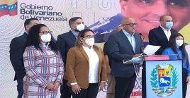 El jefe de la delegación del Gobierno venezolano responsabilizó a sectores ultraderechistas, Iván Duque y a Washingtonpor torpedear el proceso de mediación que se desarrolla en México.