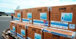 El lotede las vacunas Abdalá y Soberana 02 es el primer envío de los tres planificados antes de finalizar el año.