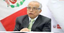 El ministro de Justicia de Perú, Aníbal Torres reveló los detalles de la presentación de la demanda contra la ley sobre la cuestión de confianza.