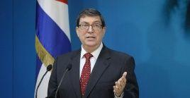 El canciller Rodríguez ha denunciado las constantes sanciones de EE.UU. contra funcionarios e instituciones cubanas.