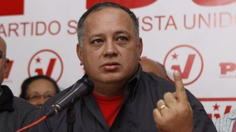 Venezuela's National Assembly President Diosdado Cabello. (AVN)