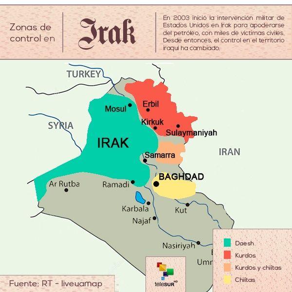 Estado Islamico Mapa Actual.Conflictos En Medio Oriente En Profundidad Telesur