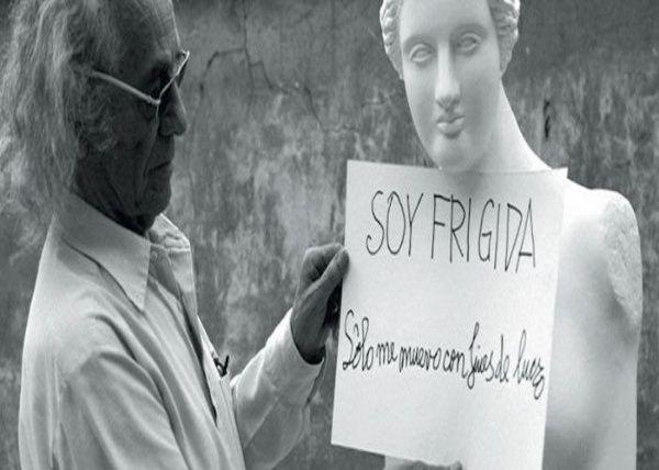 Nicanor Parra y su buen humor