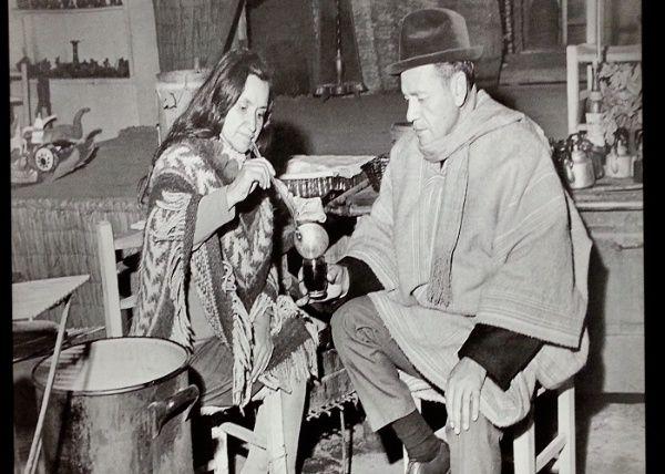 Nicanor y Violeta Parra