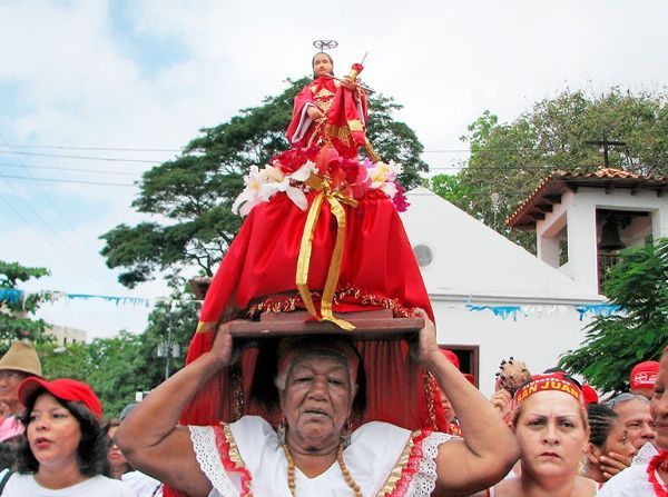 San Juan y la gente