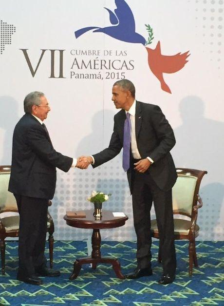 Celebran en todo el mundo encuentro entre Raúl Castro y Barack Obama
