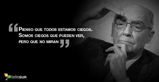 Saramago En 10 Frases Noticias Telesur