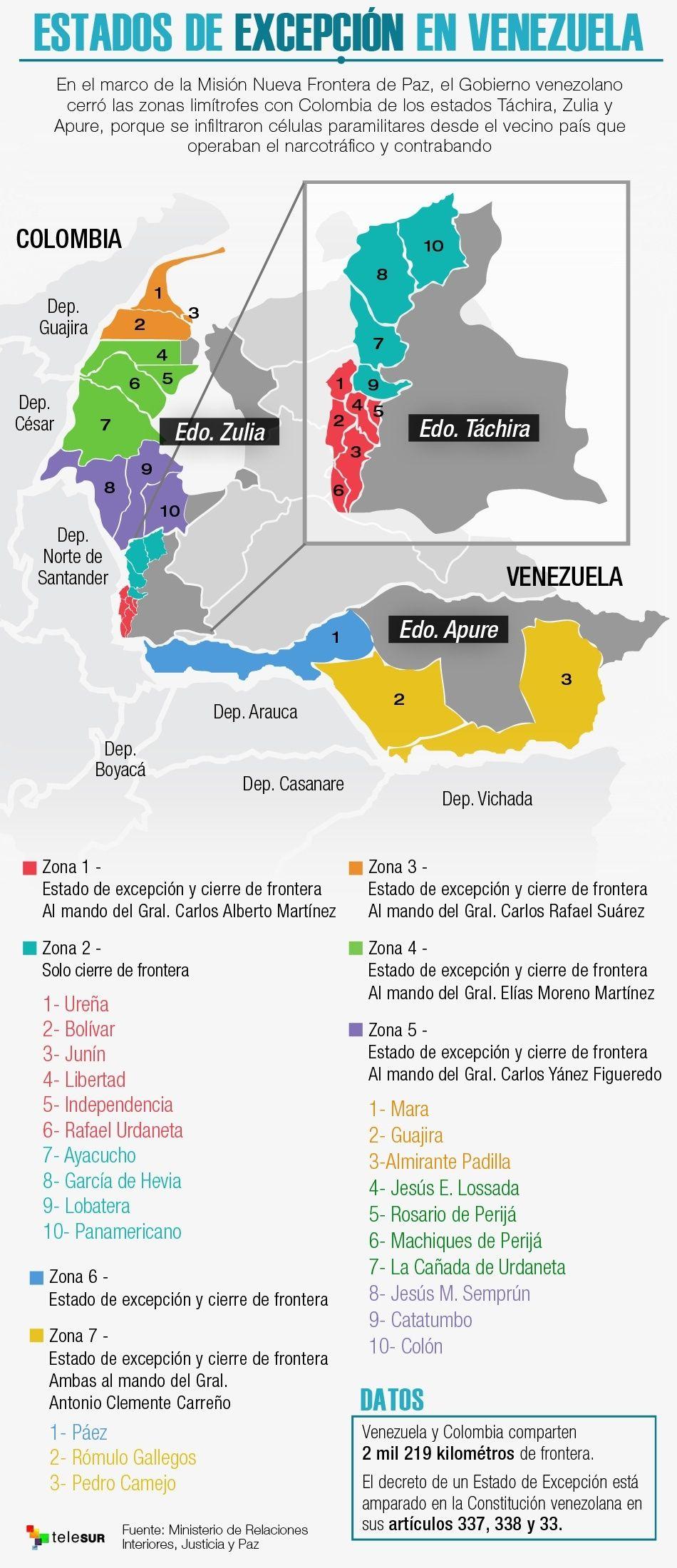 Posible violencia paramilitar en frontera colombo-venezolana