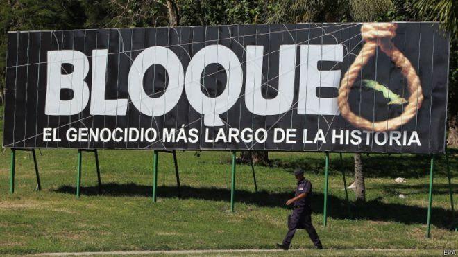 Más del 70 por ciento de los cubanos nacieron bajo el Bloqueo impuesto por EE.UU. Foto: Archivo