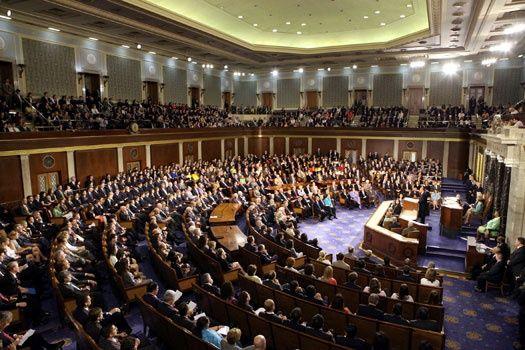 Con 375 votos a favor y 34 en contra, la Cámara de Representantes de EE.UU. aprobó el viernes el proyecto de ley de presupuesto militar de EE.UU., de unos 619.000 millones de dólares. Foto  Notimex.