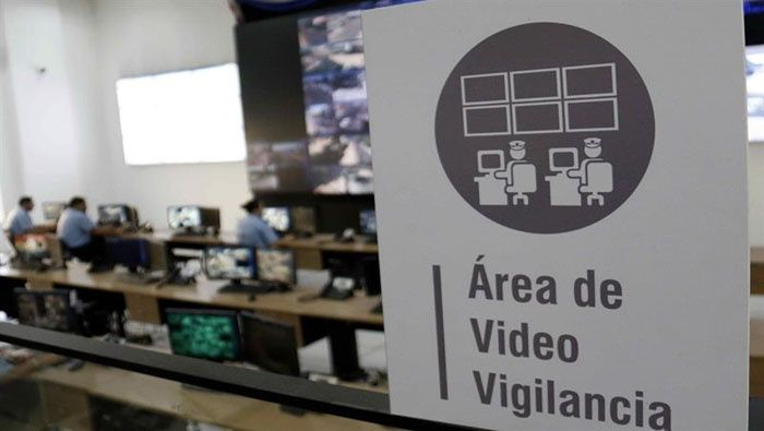 Área de video vigilancia