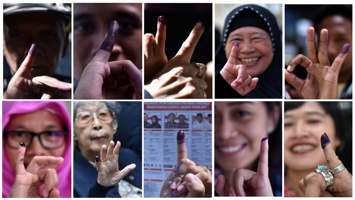 Elecciones Indonesia reuters