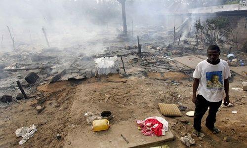 Desplazados en el Congo - EFE