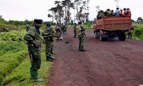 Desplazados congoleños - EFE
