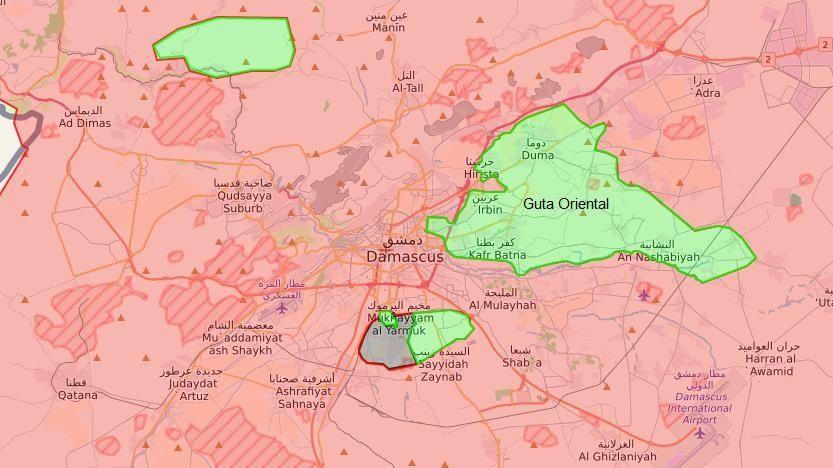 Resultado de imagen de Al Assad Damasco