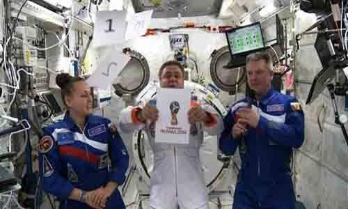 Presentación del logo en el espacio.